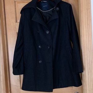 Ladies Nautica Dark Grey Ladies XL coat NWOT